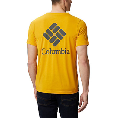 Men's Maxtrail™ Short Sleeve Logo Tee Maxtrail™ SS Logo Tee | 010 | S, Bright Gold, back