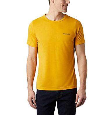 Maxtrail™ Logo T-Shirt für Herren Maxtrail™ SS Logo Tee | 011 | S, Bright Gold, front