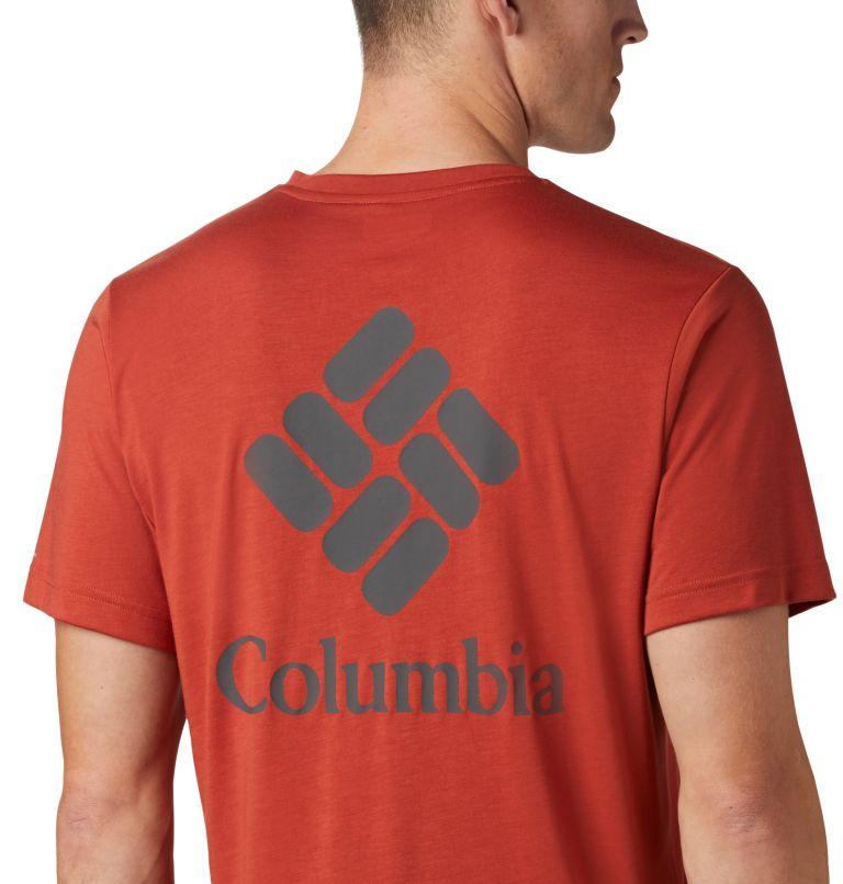 Maxtrail™ SS Logo Tee | 835 | M Men's Maxtrail™ Short Sleeve Logo Tee, Carnelian Red, a1