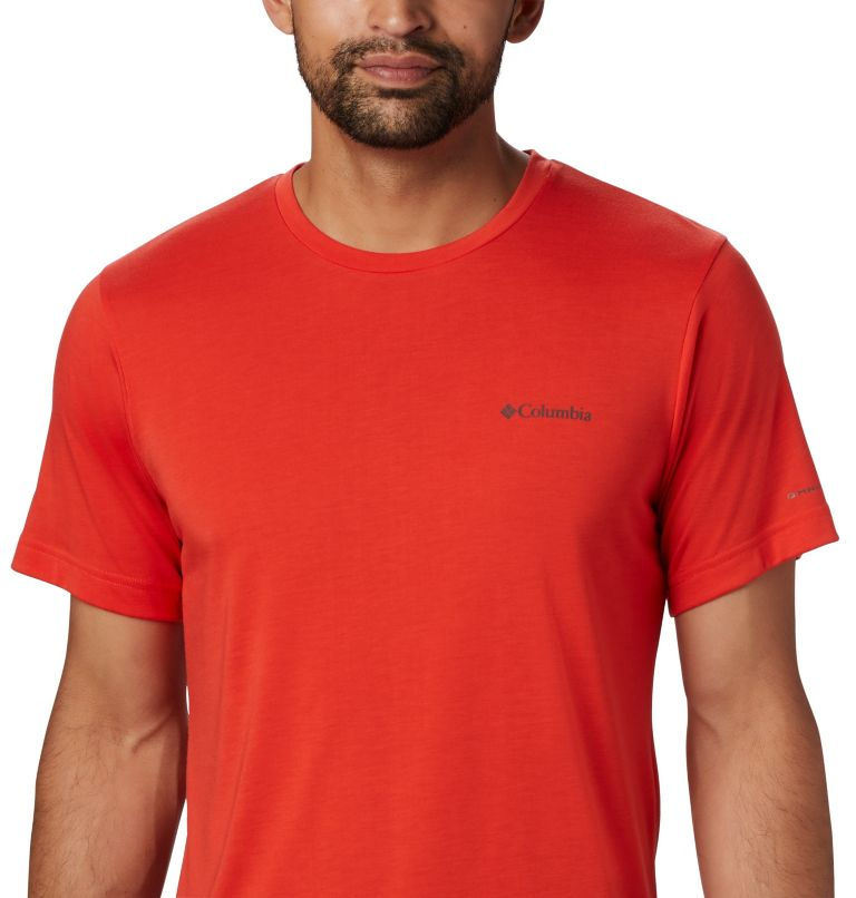 Maxtrail™ SS Logo Tee | 845 | M Men's Maxtrail™ Short Sleeve Logo Tee, Wildfire, a2