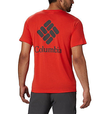 Men's Maxtrail™ Short Sleeve Logo Tee Maxtrail™ SS Logo Tee | 011 | S, Wildfire, back