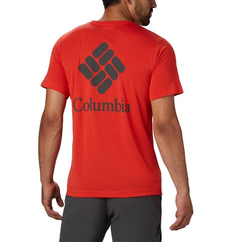 Maxtrail™ SS Logo Tee | 845 | L Men's Maxtrail™ Short Sleeve Logo Tee, Wildfire, back
