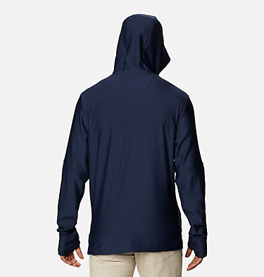 Men's Maxtrail™ Midlayer Hoodie Maxtrail™ LS Midlayer   370   XXL, Collegiate Navy, back