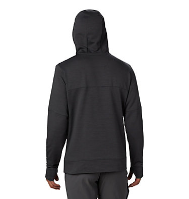 Men's Maxtrail™ Long Sleeve Midlayer Hoodie Maxtrail™ LS Midlayer | 010 | L, Black, back