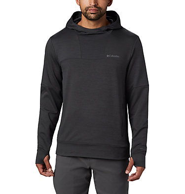 Men's Maxtrail™ Long Sleeve Midlayer Hoodie Maxtrail™ LS Midlayer | 010 | L, Black, front