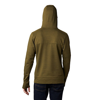 Men's Maxtrail™ Long Sleeve Midlayer Hoodie Maxtrail™ LS Midlayer | 010 | L, New Olive, back