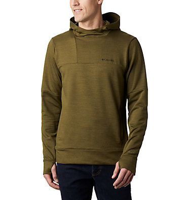 Men's Maxtrail™ Long Sleeve Midlayer Hoodie Maxtrail™ LS Midlayer | 010 | L, New Olive, front