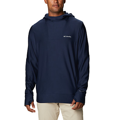 Men's Maxtrail™ Long Sleeve Midlayer Hoodie Maxtrail™ LS Midlayer | 010 | L, Collegiate Navy, front