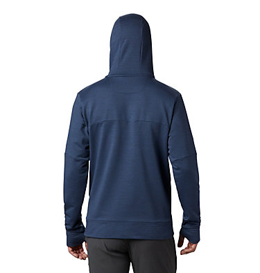 Men's Maxtrail™ Long Sleeve Midlayer Hoodie Maxtrail™ LS Midlayer | 010 | L, Dark Mountain, back