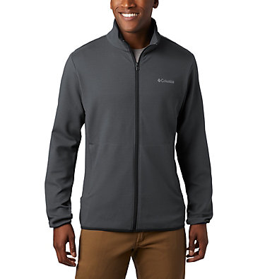 Men's Town Park™ Midlayer Full Zip Town Park™ Midlayer FZ | 023 | L, City Grey, front