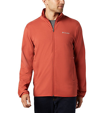 Men's Town Park™ Midlayer Full Zip Town Park™ Midlayer FZ | 023 | L, Carnelian Red, front