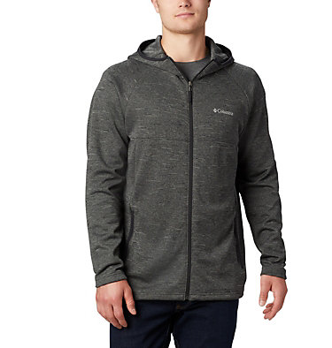 Midlayer con cappuccio Maple Lake™ da uomo  Maple Lake™ Midlayer FZ Hoodie | 010 | L, Black, front