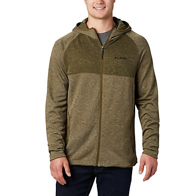 Men's Maple Lake™ Midlayer Full Zip Hoodie Maple Lake™ Midlayer FZ Hoodie | 010 | L, Sage, New Olive, front