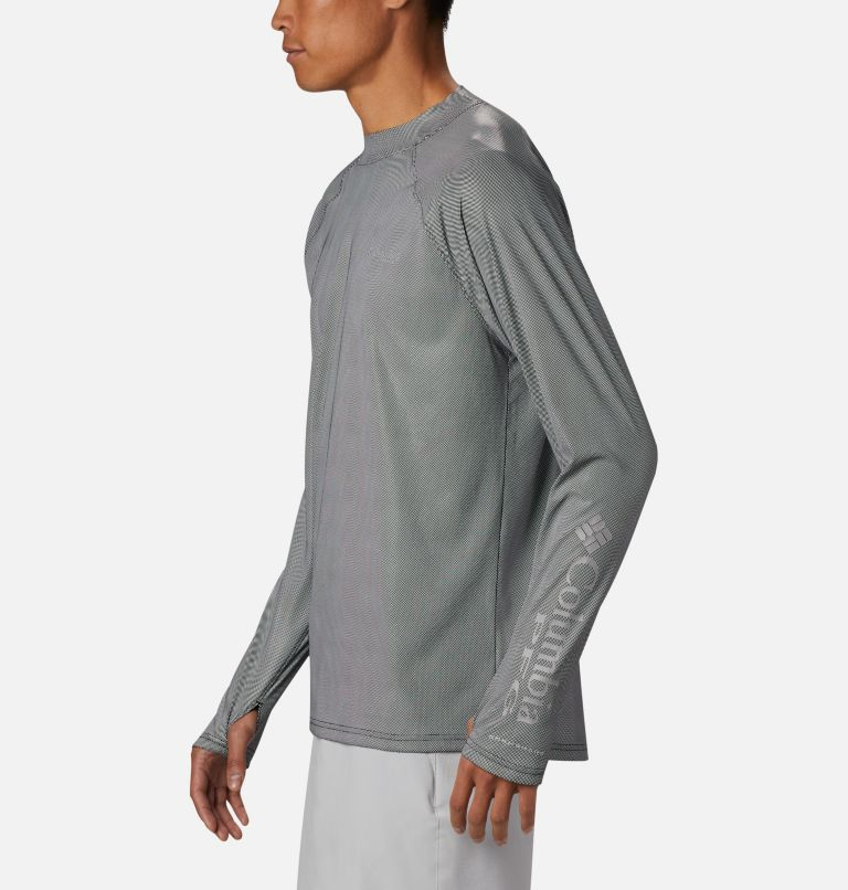 Men's PFG Terminal Deflector™ Zero Mock Long Sleeve Shirt Men's PFG Terminal Deflector™ Zero Mock Long Sleeve Shirt, a1