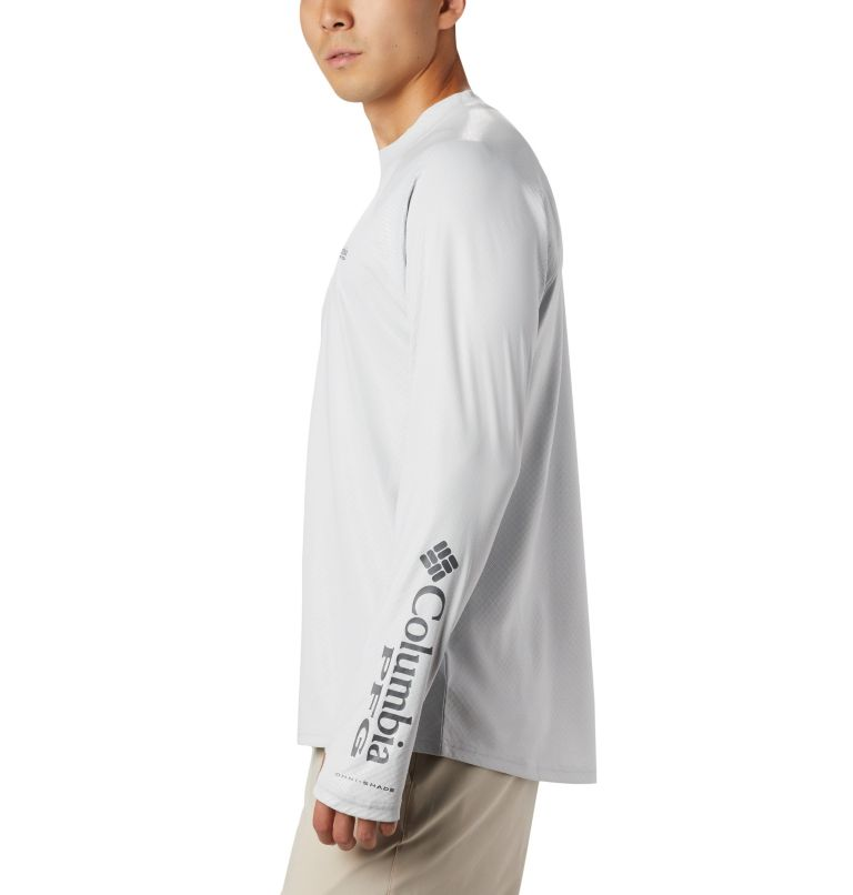Men's PFG Terminal Deflector™ Zero Mock Long Sleeve Shirt Men's PFG Terminal Deflector™ Zero Mock Long Sleeve Shirt, a2