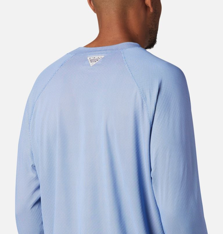 Men's PFG Terminal Deflector™ Zero Mock Long Sleeve Shirt Men's PFG Terminal Deflector™ Zero Mock Long Sleeve Shirt, a3