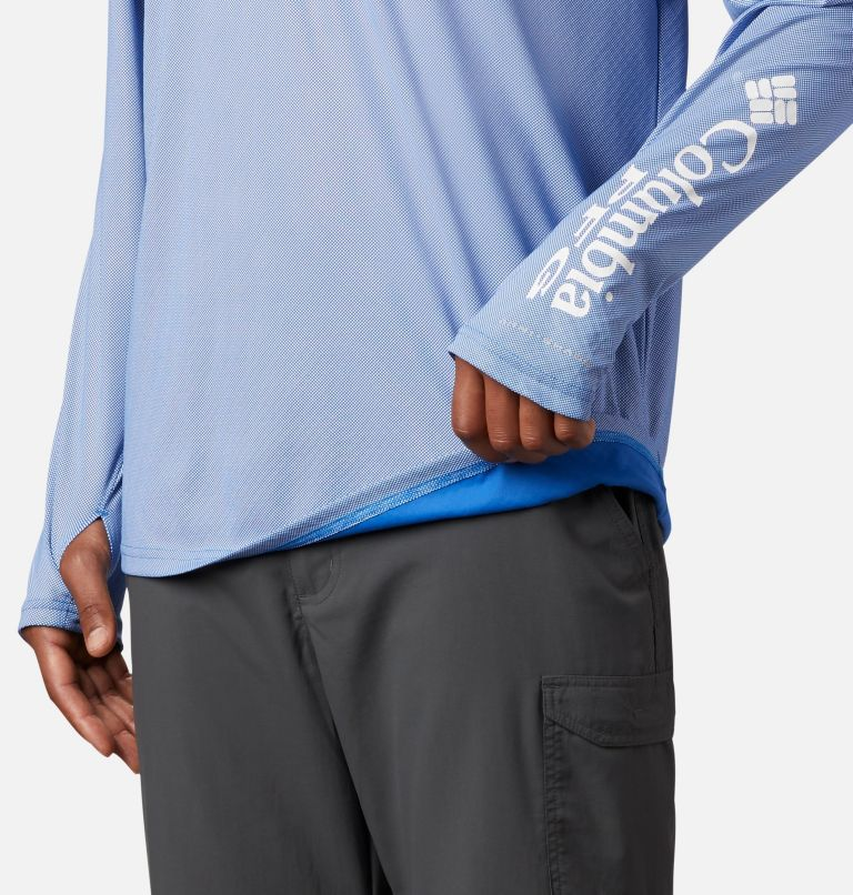Men's PFG Terminal Deflector™ Zero Mock Long Sleeve Shirt Men's PFG Terminal Deflector™ Zero Mock Long Sleeve Shirt, a4