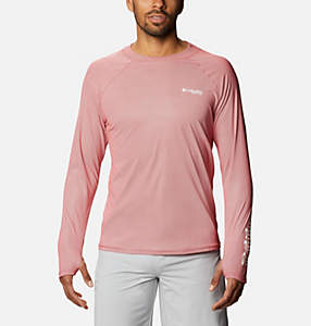 Men's PFG Terminal Deflector™ Zero Mock Long Sleeve Shirt