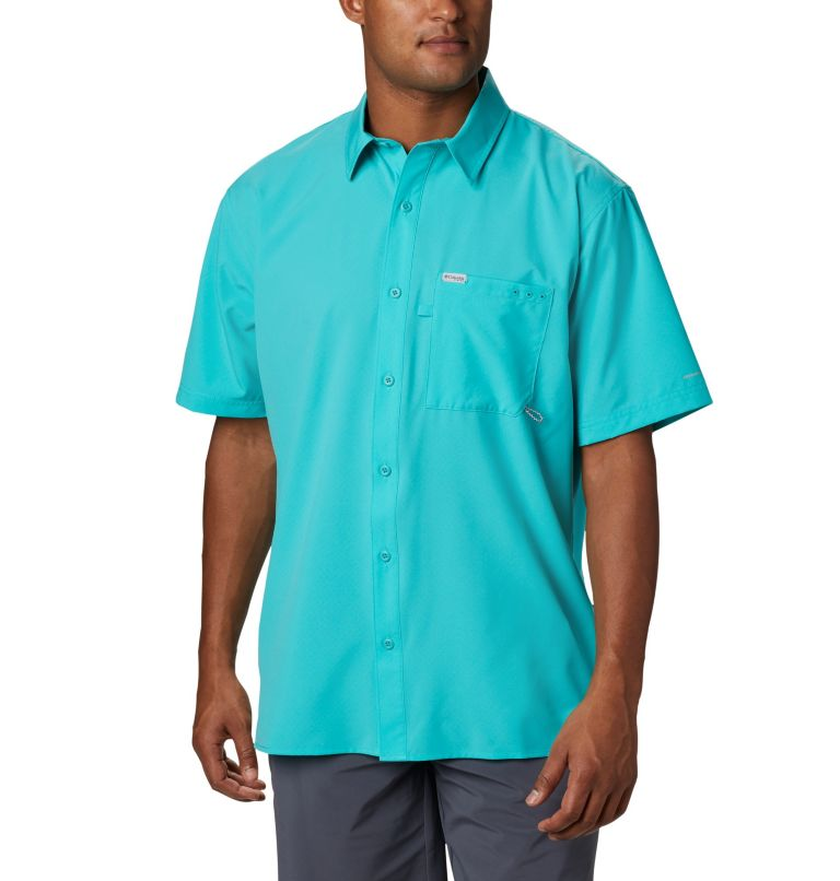 Men's PFG Zero Rules™ Woven Short Sleeve Shirt Men's PFG Zero Rules™ Woven Short Sleeve Shirt, front