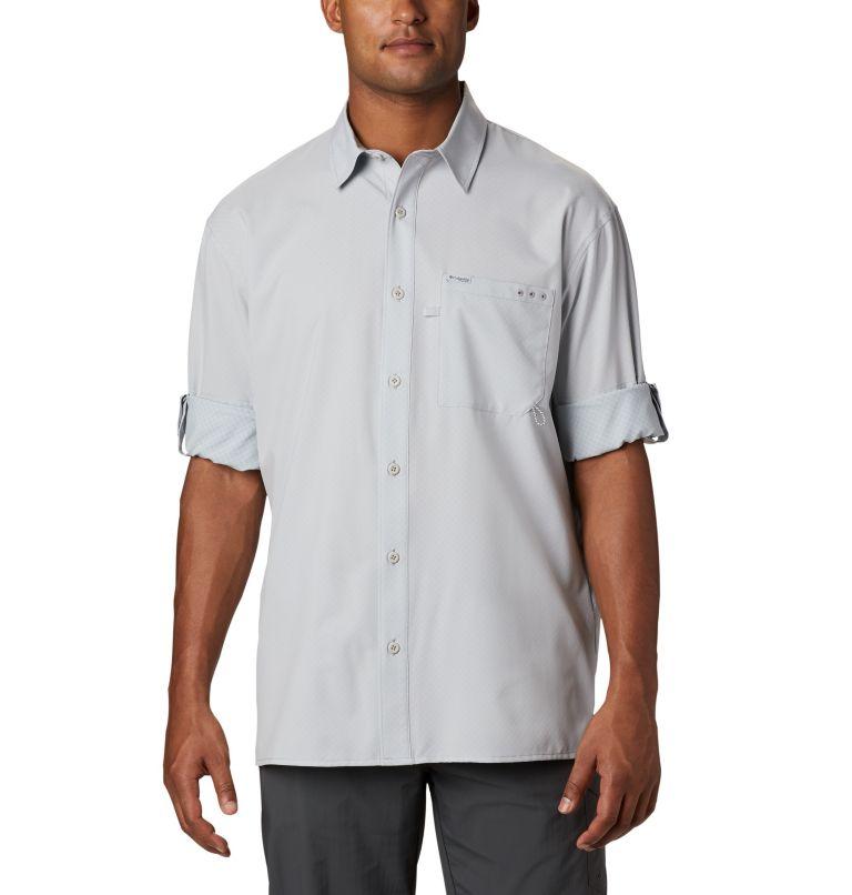 PFG ZERO Rules™ Woven LS | 019 | S Men's PFG Zero Rules™ Woven Long Sleeve Shirt, Cool Grey, a5