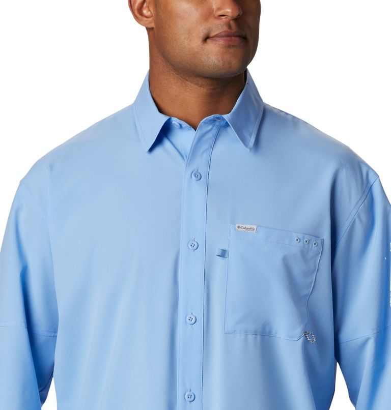 PFG ZERO Rules™ Woven LS | 450 | S Men's PFG Zero Rules™ Woven Long Sleeve Shirt, White Cap, a2