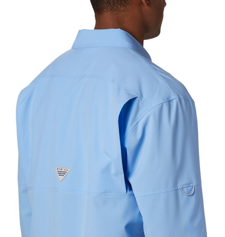 PFG ZERO Rules™ Woven LS | 450 | S Men's PFG Zero Rules™ Woven Long Sleeve Shirt, White Cap, a3