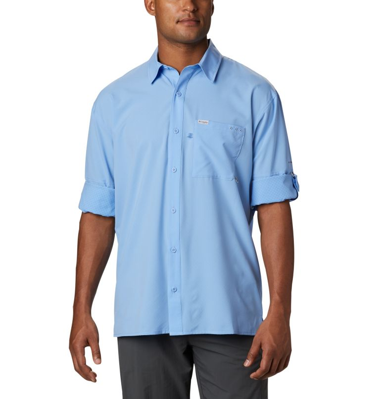 PFG ZERO Rules™ Woven LS | 450 | S Men's PFG Zero Rules™ Woven Long Sleeve Shirt, White Cap, a5