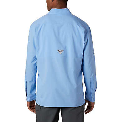 Men's PFG Zero Rules™ Woven Long Sleeve Shirt PFG ZERO Rules™ Woven LS | 450 | L, White Cap, back