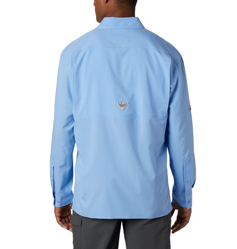 PFG ZERO Rules™ Woven LS | 450 | S Men's PFG Zero Rules™ Woven Long Sleeve Shirt, White Cap, back