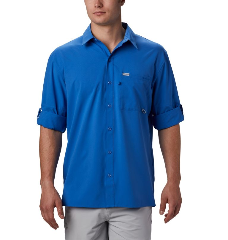 Men's PFG Zero Rules™ Woven Long Sleeve Shirt Men's PFG Zero Rules™ Woven Long Sleeve Shirt, a1