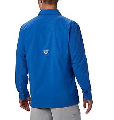 Men's PFG Zero Rules™ Woven Long Sleeve Shirt PFG ZERO Rules™ Woven LS | 450 | L, Vivid Blue, back