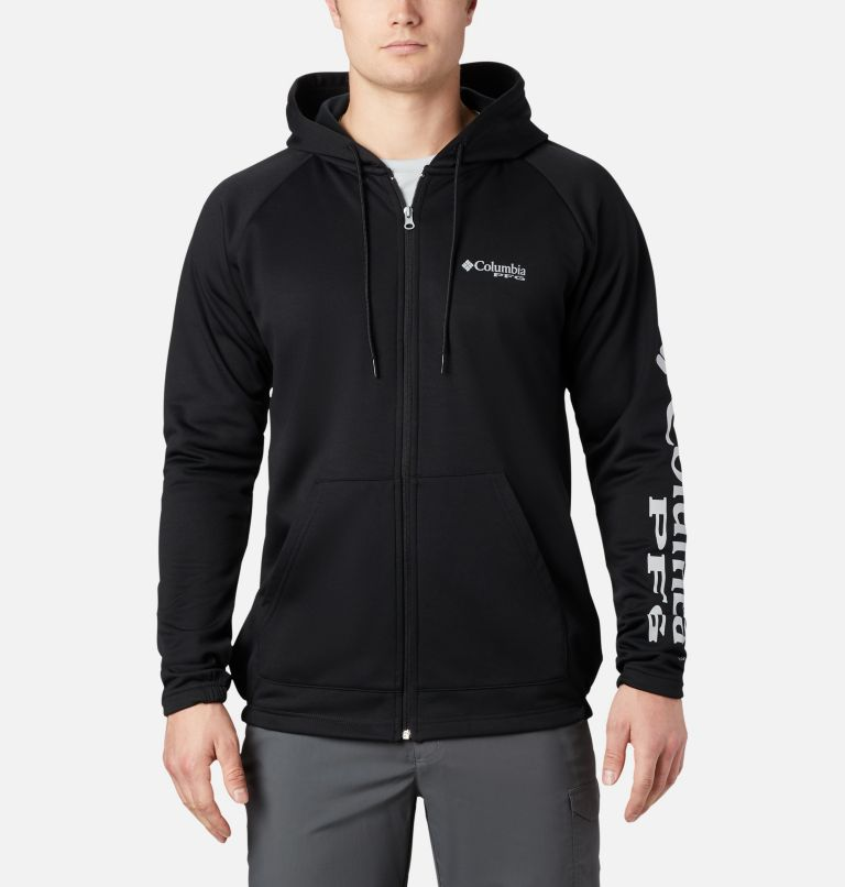 Men's PFG Terminal Tackle™ Fleece Full Zip Hoodie Men's PFG Terminal Tackle™ Fleece Full Zip Hoodie, front