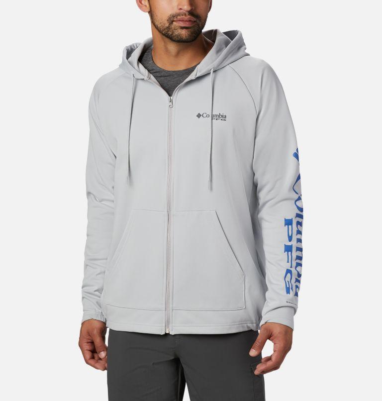 Men's PFG Terminal Tackle™ Fleece Full Zip Hoodie Men's PFG Terminal Tackle™ Fleece Full Zip Hoodie, front