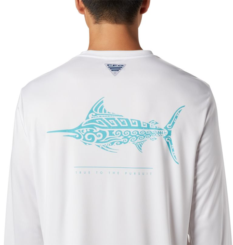 Men's PFG Terminal Tackle™ Tribal Fish Long Sleeve Shirt Men's PFG Terminal Tackle™ Tribal Fish Long Sleeve Shirt, a3