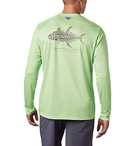 Men's PFG Terminal Tackle™ Tribal Fish Long Sleeve Shirt