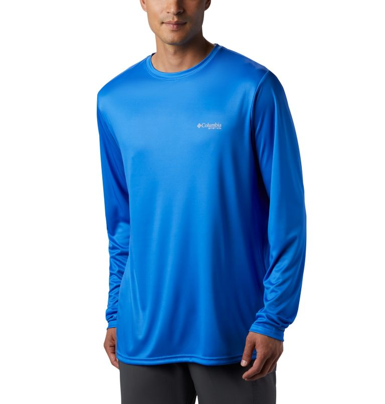 Men's PFG Terminal Tackle™ Tribal Fish Long Sleeve Shirt Men's PFG Terminal Tackle™ Tribal Fish Long Sleeve Shirt, back