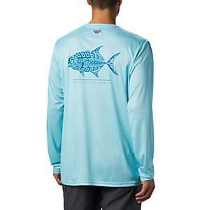 Men's PFG Terminal Tackle™ Tribal Fish Long Sleeve Shirt