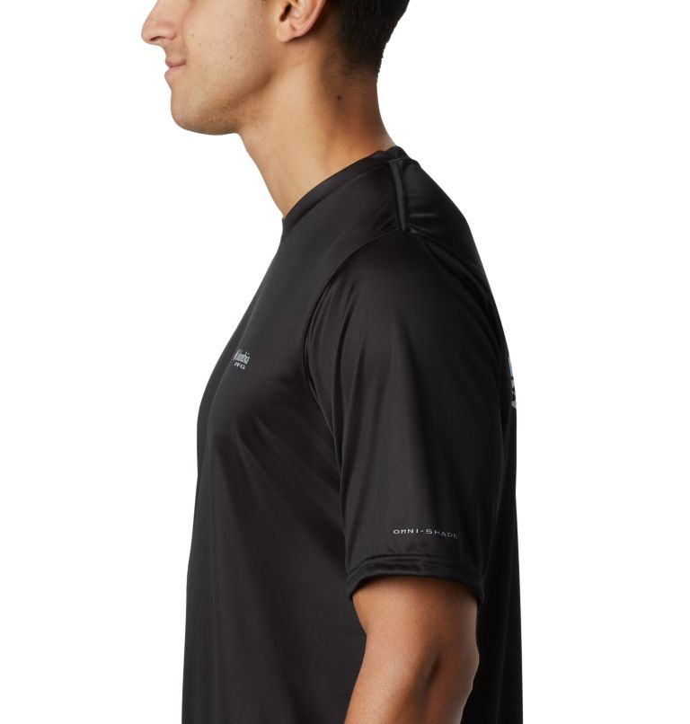 Men's PFG Terminal Tackle™ Tribal Fish Short Sleeve Shirt Men's PFG Terminal Tackle™ Tribal Fish Short Sleeve Shirt, a2