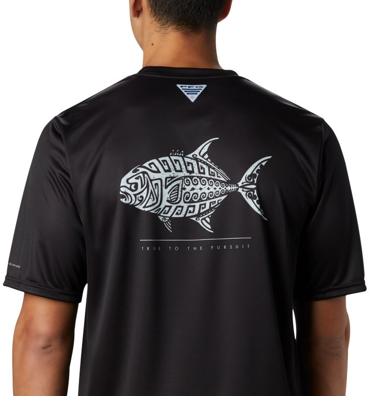 Men's PFG Terminal Tackle™ Tribal Fish Short Sleeve Shirt Men's PFG Terminal Tackle™ Tribal Fish Short Sleeve Shirt, a3
