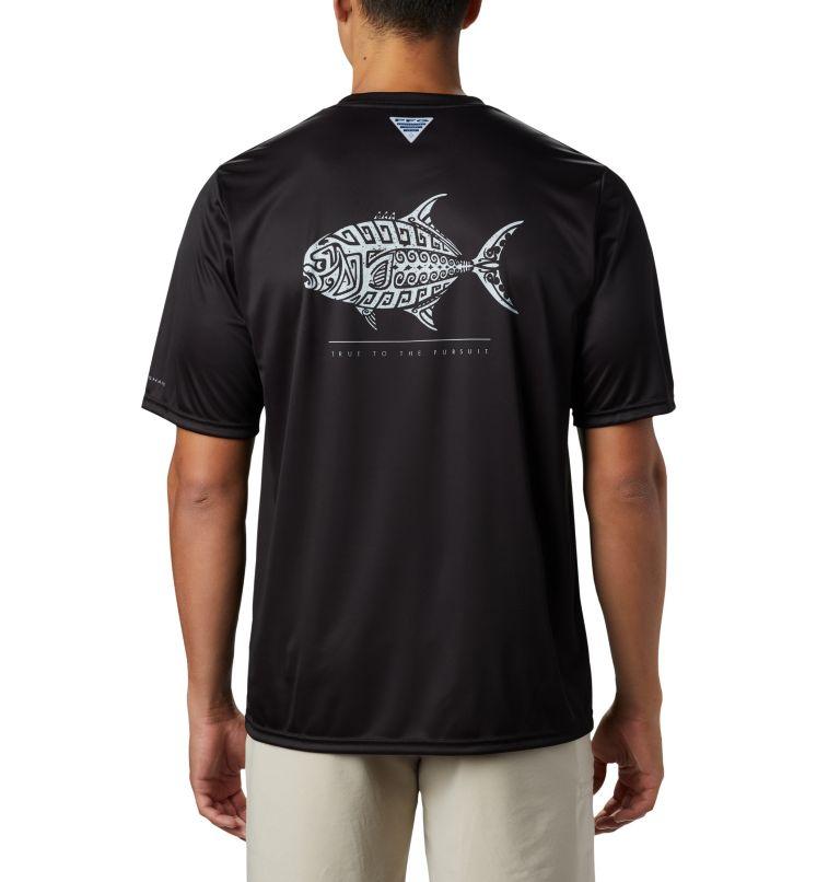 Men's PFG Terminal Tackle™ Tribal Fish Short Sleeve Shirt Men's PFG Terminal Tackle™ Tribal Fish Short Sleeve Shirt, front