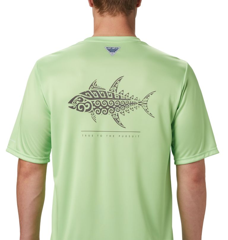 Men's PFG Terminal Tackle™ Tribal Fish Short Sleeve Shirt Men's PFG Terminal Tackle™ Tribal Fish Short Sleeve Shirt, a3