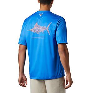 Men's PFG Terminal Tackle™ Tribal Fish Short Sleeve Shirt