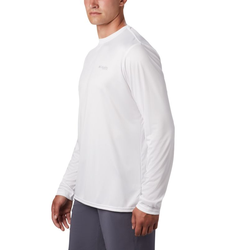 Terminal Tackle PFG™ Americana LS | 100 | XL Men's PFG Terminal Tackle™ Americana Long Sleeve Shirt, White, a2