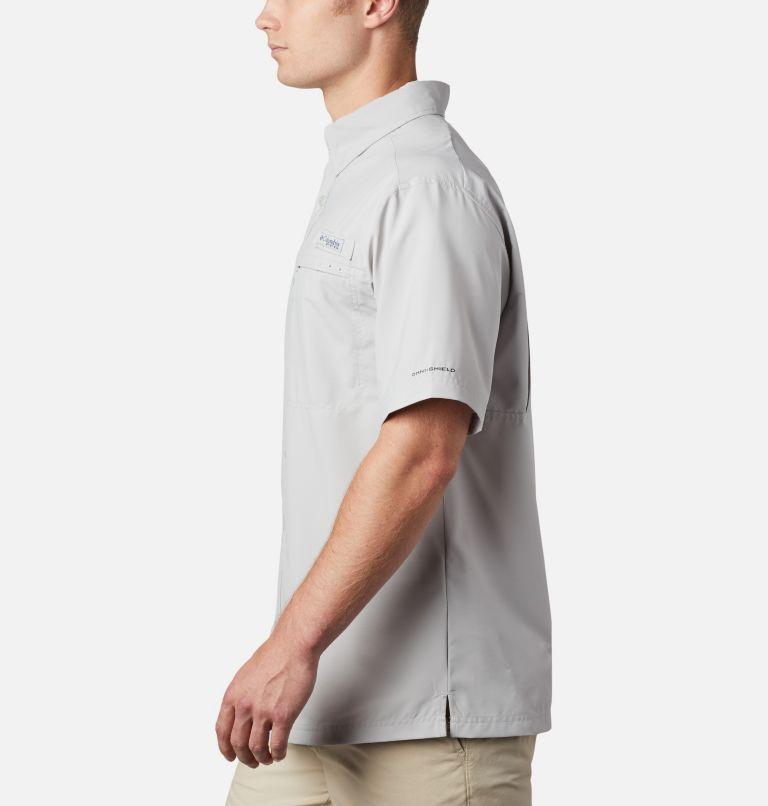 Grander Marlin™ Woven SS | 019 | XS Men's PFG Grander Marlin™ Woven Short Sleeve Shirt, Cool Grey, a1