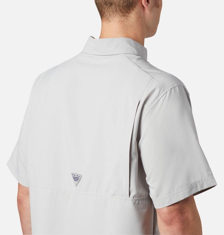 Grander Marlin™ Woven SS | 019 | XXL Men's PFG Grander Marlin™ Woven Short Sleeve Shirt, Cool Grey, a2