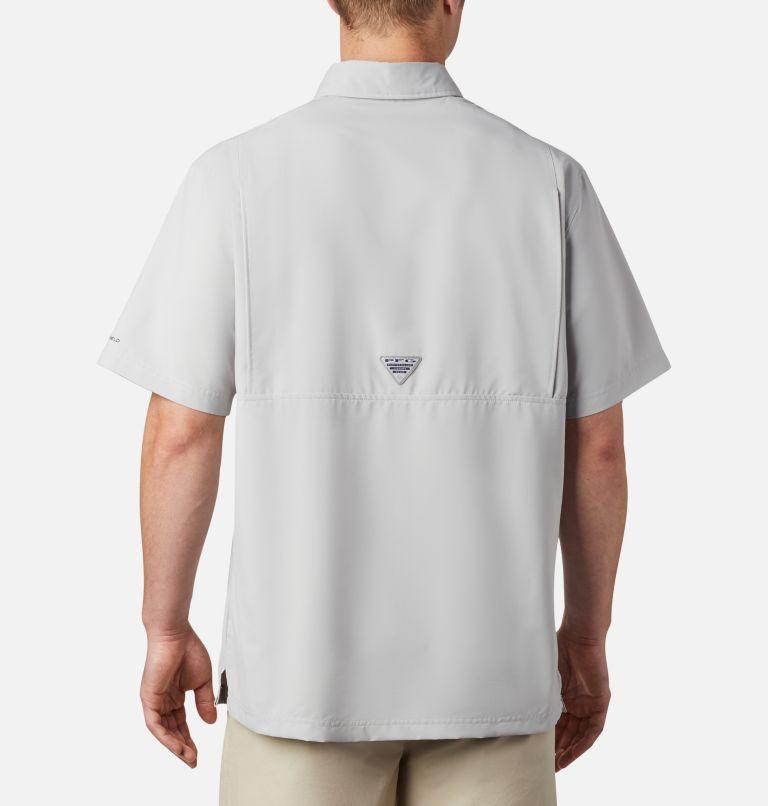 Grander Marlin™ Woven SS | 019 | XXL Men's PFG Grander Marlin™ Woven Short Sleeve Shirt, Cool Grey, back