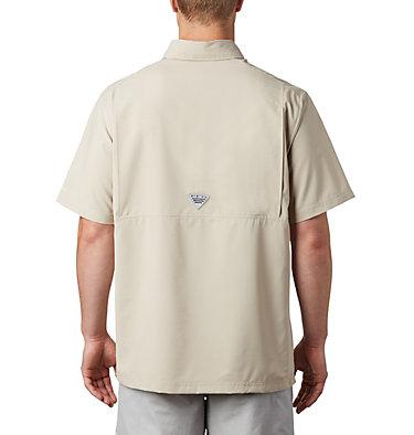 Men's PFG Grander Marlin™ Woven Short Sleeve Shirt Grander Marlin™ Woven SS | 487 | L, Fossil, back