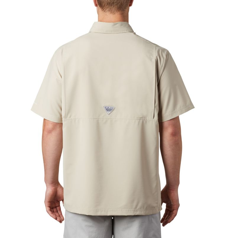 Men's PFG Grander Marlin™ Woven Short Sleeve Shirt Men's PFG Grander Marlin™ Woven Short Sleeve Shirt, back