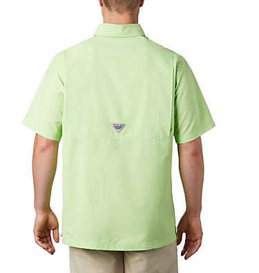 Men's PFG Grander Marlin™ Woven Short Sleeve Shirt Grander Marlin™ Woven SS | 487 | L, Jade Lime, back