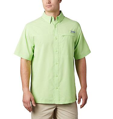 Men's PFG Grander Marlin™ Woven Short Sleeve Shirt Grander Marlin™ Woven SS | 487 | L, Jade Lime, front